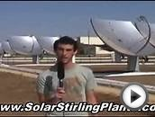 Low Cost Homemade Solar Stirling Generator - Your Home